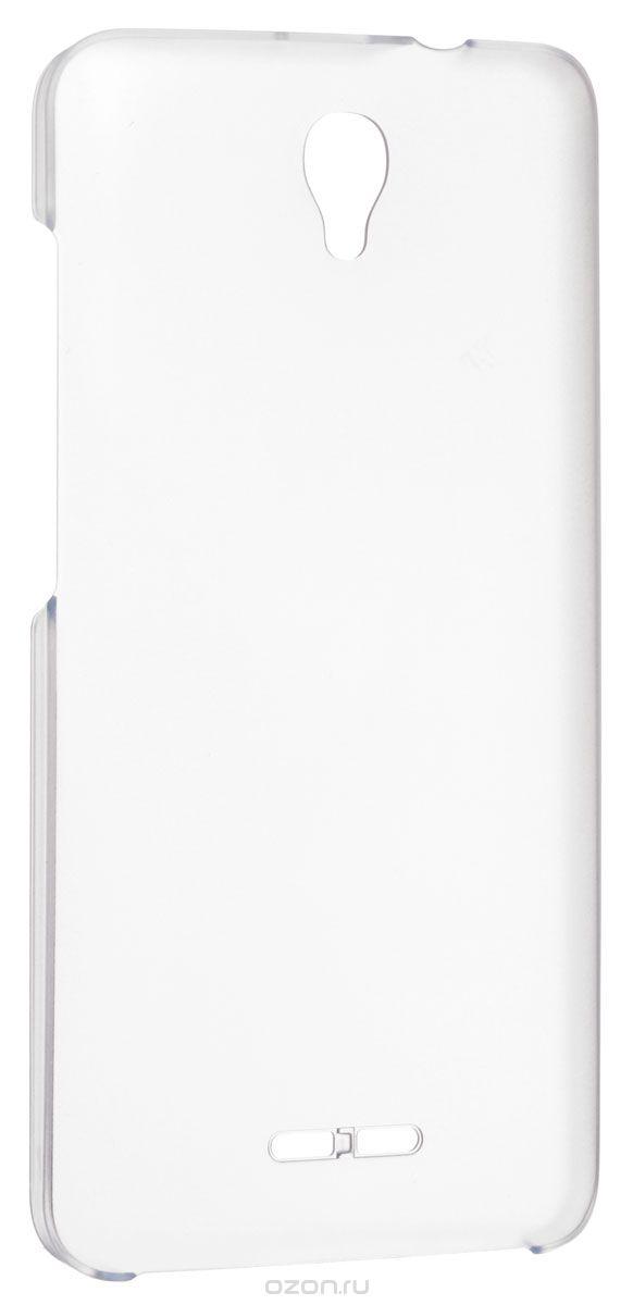 Alcatel BackCover чехол для OT-5070 Pop StarG5070-3AALTSG-RUЧехол Alcatel BackCover для OneTouch Pop Star обеспечивает надежную защиту корпуса вашего смартфона от механических повреждений и надолго сохраняет его привлекательный внешний вид. Обеспечивает свободный доступ ко всем разъемам и клавишам устройства.