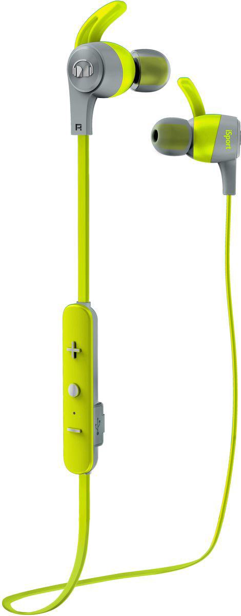 Monster iSport Achieve In-Ear Wireless, Green наушники137088-00Вставные спортивные наушники iSport Achieve In-Ear Wireless с запатентованными технологиями Monster - лучшие в своем ценовом сегменте. Эксклюзивное крепление SecureFit от Monster позволяет наушникам оставаться на месте в течении самой подвижной тренировки в тренажерном зале. Высокая шумоизоляция позволит сосредоточиться на треках, а покрытие с защитой от пота добиться наибольшей интенсивности тренировок с максимальным комфортом.