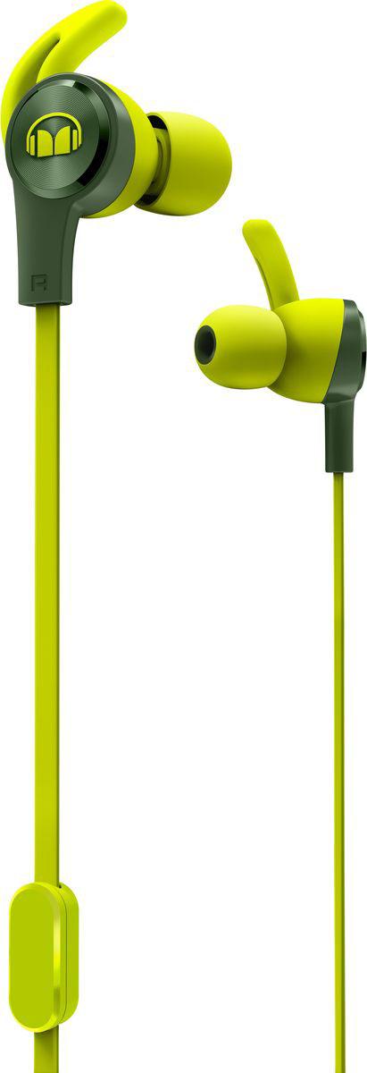Monster iSport Achieve, Green наушники137091-00Вставные спортивные наушники iSport Achieve с запатентованными технологиями Monster - лучшие в своем ценовом сегменте. Эксклюзивное крепление SecureFit от Monster позволяет наушникам оставаться на месте в течении самой подвижной тренировки в тренажерном зале. Высокая шумоизоляция позволит сосредоточиться на треках, а покрытие с защитой от пота добиться наибольшей интенсивности тренировок с максимальным комфортом.