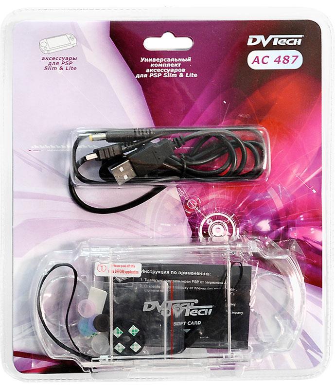 Комплект аксессуаров для PSP Slim 5в1 DVTech AC487