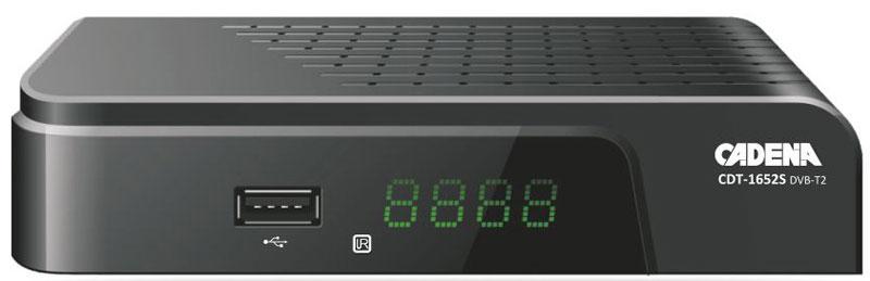 Cadena CDT-1652S, Black DVB-T2 ТВ-тюнер
