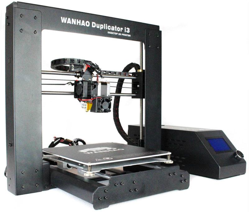 Wanhao Duplicator i3 v 2.1, Black 3D принтер УТ000007013