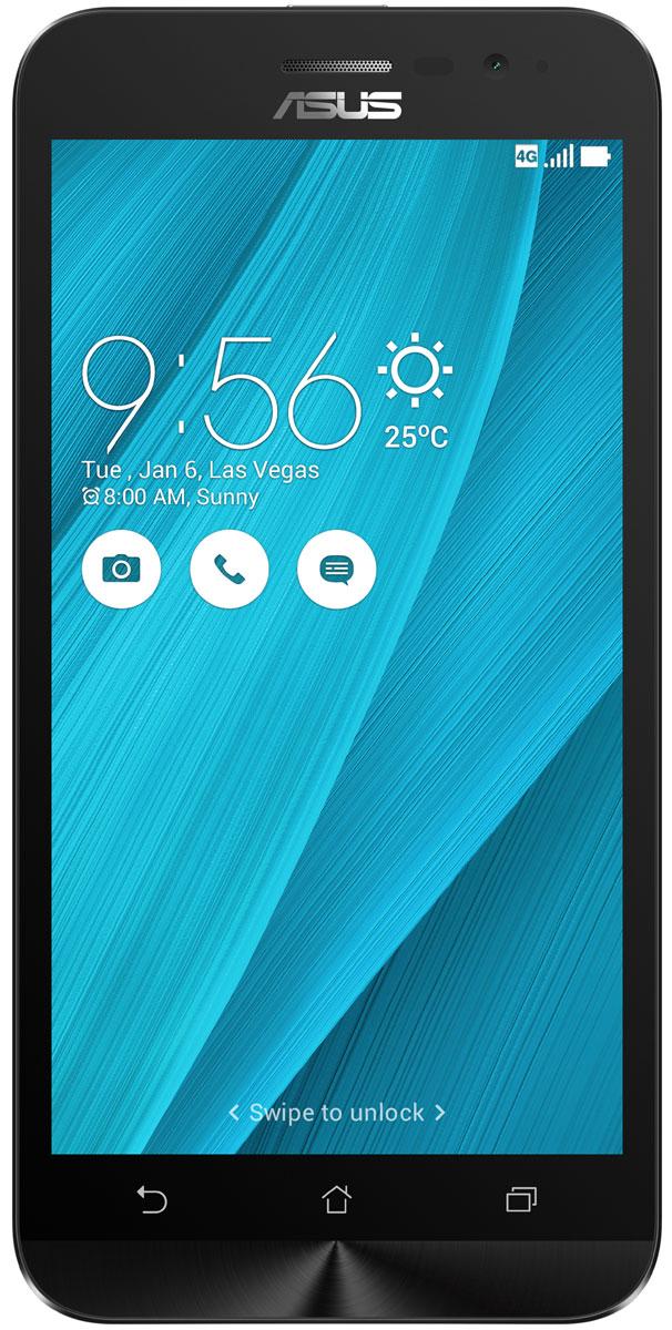 ASUS ZenFone Go ZB500KL, Blue (90AX00A7-M00770)90AX00A7-M00770Поддержка двух SIM-карт, четкое изображение, интуитивно понятный пользовательский интерфейс - все это Вы найдете в новом смартфоне Asus ZenFone Go ZB500KL. Линейка мобильных продуктов Asus, разрабатываемых под общей философией Zen, - это устройства, которыми приятно пользоваться. Сочетая в себе широкую функциональность и великолепный дизайн, они идеально подходят для современного, мобильного стиля жизни. ZenFone Go выполнен в эргономичном корпусе, который удобно ложится в ладонь. Оригинальным и весьма удобным решением в его дизайне является расположенная на задней панели корпуса кнопка, с помощью которой можно делать фотоснимки, изменять громкость звука и т.д. Подчеркните свою индивидуальность, выбрав ZenFone Go своего любимого цвета из нескольких доступных вариантов. А затем установите соответствующую визуальную тему пользовательского интерфейса ASUS ZenUI. В ZenFone Go реализована эксклюзивная технология PixelMaster, представляющая...