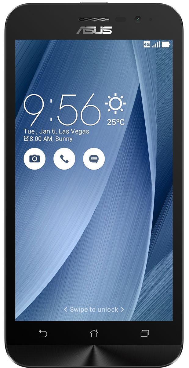 ASUS ZenFone Go ZB500KL, Silver (90AX00A9-M00760)90AX00A9-M00760Поддержка двух SIM-карт, четкое изображение, интуитивно понятный пользовательский интерфейс - все это Вы найдете в новом смартфоне Asus ZenFone Go ZB500KL. Линейка мобильных продуктов Asus, разрабатываемых под общей философией Zen, - это устройства, которыми приятно пользоваться. Сочетая в себе широкую функциональность и великолепный дизайн, они идеально подходят для современного, мобильного стиля жизни. ZenFone Go выполнен в эргономичном корпусе, который удобно ложится в ладонь. Оригинальным и весьма удобным решением в его дизайне является расположенная на задней панели корпуса кнопка, с помощью которой можно делать фотоснимки, изменять громкость звука и т.д. Подчеркните свою индивидуальность, выбрав ZenFone Go своего любимого цвета из нескольких доступных вариантов. А затем установите соответствующую визуальную тему пользовательского интерфейса ASUS ZenUI. В ZenFone Go реализована эксклюзивная технология PixelMaster, представляющая...