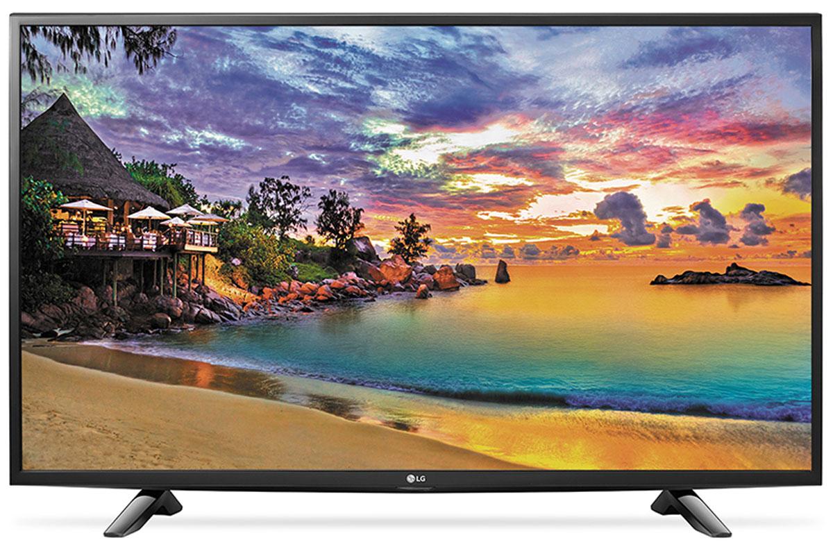 LG 43UH603 телевизор43UH603VСовременный телевизор LG 43UH603 для всей семьи. HDR Pro: Функция HDR Pro позволяет увидеть фильмы с теми яркостью, богатейшей палитрой и точностью цветовых оттенков, с какими они были сняты. Трёхмерная обработка цвета: В новых UHD телевизорах LG используется трёхмерный алгоритм обработки цвета, что позволяет минимизировать искажения и добиться оттенков, максимально приближенных к натуральным. Энергосбережение: Эта функция включает в себя контроль подсветки, который позволяет регулировать яркость экрана в целях экономии электроэнергии. ULTRA Surround: Специальный алгоритм преобразовывает звуковые волны, исходящие из двухканальных динамиков так, что вам будет казаться, что вы слушаете 7-канальный звук. Получите ещё больше удовольствия от просмотра 4К фильмов! webOS 3.0: Обновлённая операционная система LG SMART TV на базе webOS 3.0 создана для того, чтобы доступ к фильмам, сериалам,...