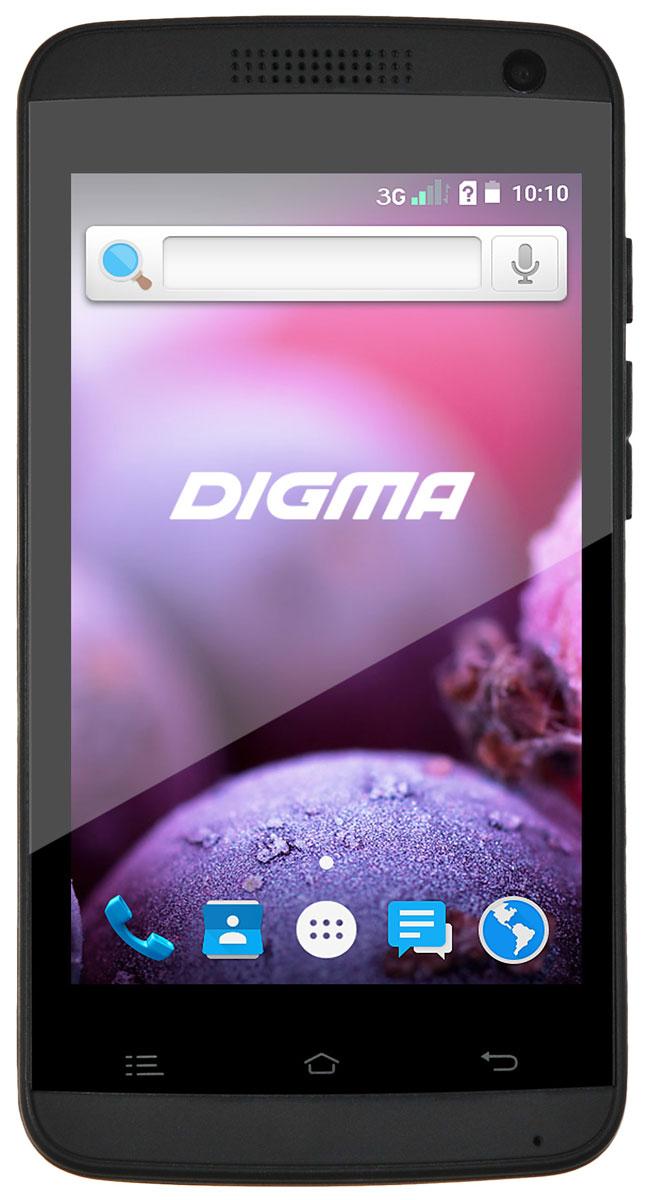Digma Linx A401 3G, BlackLT4018PGDigma Linx A401 3G – компактный и доступный смартфон с 4-дюймовым сенсорным дисплеем, позволяющим получать доступ ко всем функциям при управлении одной рукой. Высокая яркость подсветки в сочетании с большой контрастностью TFT-матрицы делает использование устройства удобным в любых условиях. Данная модель позволяет ни на секунду не расставаться с любимыми сайтами, социальными сетями и онлайн-сервисами. Она укомплектовано передатчиком 3G, обеспечивающим высокую скорость передачи данных. Высокопроизводительный четырехъядерный процессор Spreadtrum SC7731 помогает сохранять отличное быстродействие системы даже при одновременном запуске нескольких приложений. В смартфоне также предусмотрен отдельный слот для карты microSD, за счет чего он не ограничивает доступный объем памяти при установке двух SIM-карт. Мобильное устройство снабжено двумя камерами – основной с яркой светодиодной вспышкой, подходящей для создания четких снимков, и фронтальной для...