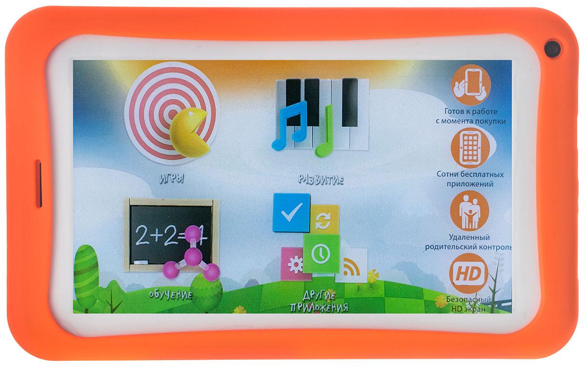 PlayPad 3 WiFiPP3WIFIДетский планшет PlayPad 3 имеет простой интерфейс, интуитивно понятный любому ребёнку. Все приложения проходят строжайшую аттестацию детских психологов и педагогов, а потому абсолютно безопасны для психики детей. Родители могут контролировать, какие сайты посещает их ребёнок и какими приложениями пользуется, без вмешательства в личное пространство ребёнка. Зарегистрировавшись на сайте playpads.net, вы получаете возможность следить за временем, проведённым вашим ребёнком за планшетом. PlayPad 3 – это готовый к использованию планшет, который может работать без соединения с интернетом. В нём уже установлены все самые необходимые и популярные приложения. Он прост в управлении и не требует дополнительных настроек. Просто зайти на сайт playpads.net, выберете понравившееся приложение и загрузите его на планшет. Пошаговый алгоритм действий вы можете найти в листовке Первые шаги и инструкции, прилагающейся к планшету. Если приложений на сайте вам будет недостаточно,...