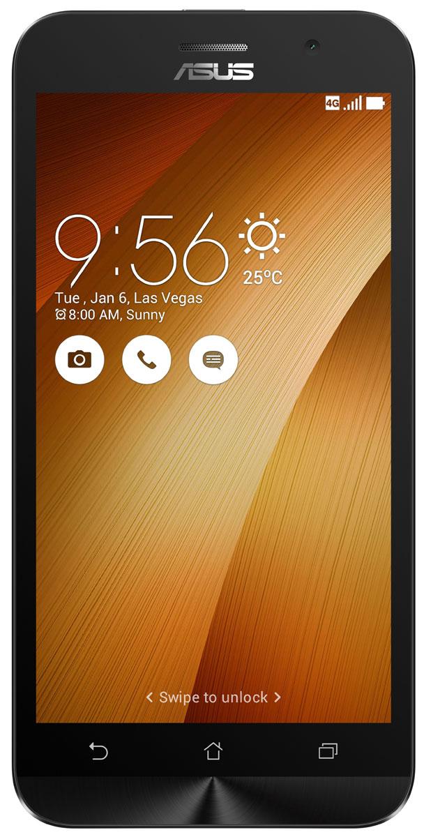 ASUS ZenFone Go ZB500KL, Gold (90AX00A8-M00750)90AX00A8-M00750Поддержка двух SIM-карт, четкое изображение, интуитивно понятный пользовательский интерфейс - все это вы найдете в новом смартфоне Asus ZenFone Go ZB500KL. Линейка мобильных продуктов Asus, разрабатываемых под общей философией Zen, - это устройства, которыми приятно пользоваться. Сочетая в себе широкую функциональность и великолепный дизайн, они идеально подходят для современного, мобильного стиля жизни. ZenFone Go выполнен в эргономичном корпусе, который удобно ложится в ладонь. Оригинальным и весьма удобным решением в его дизайне является расположенная на задней панели корпуса кнопка, с помощью которой можно делать фотоснимки, изменять громкость звука и т.д. Подчеркните свою индивидуальность, выбрав ZenFone Go своего любимого цвета из нескольких доступных вариантов. А затем установите соответствующую визуальную тему пользовательского интерфейса ASUS ZenUI. В ZenFone Go реализована эксклюзивная технология PixelMaster,...