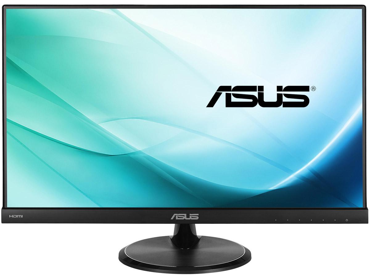 ASUS VC239H, Black монитор90LM01E2-B02470ASUS VC239H - это 23-дюймовый FHD монитор с минимизацией мерцания и фильтрацией синего света. В мониторе VC239H реализованы две удобные функции, предназначенные для любителей компьютерных игр: отображение перекрестия прицела (четыре варианта) и таймер (поможет отслеживать время в стратегиях). Обе функции активируются с помощью специальной кнопки GamePlus. ЖК-панель монитора VC239H, изготовленная по технологии IPS, обладает большими углами обзора (на уровне 178°) как по горизонтали, так и по вертикали. Благодаря этому изображение практически не претерпевает каких-либо искажений цветопередачи при изменении угла, под которым пользователь смотрит на экран. Технология ASCR (ASUS Smart Contrast Ratio) служит для автоматического изменения яркости подсветки в соответствии с характером текущего изображения. Она позволяет добиться высокой контрастности на уровне 80 000 000:1 и будет особенно полезной при просмотре фильмов. Для еще большего...