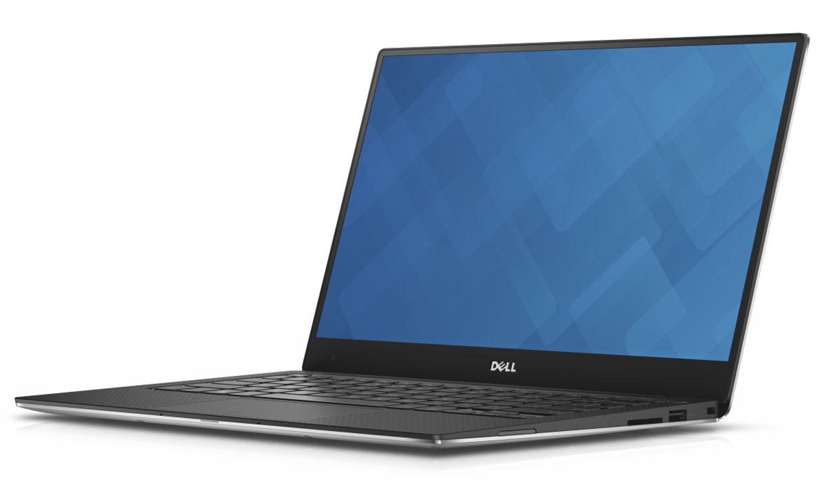Dell XPS 13 (9350-2082), Silver9350-2082Dell XPS 13 - компактный и стильный ноутбук с безрамочным дисплеем. Тонкая лицевая панель монитора увеличивает пространство экрана в этой инновационной конструкции. Трехсторонний, практически безграничный дисплей обладает миниатюрной рамкой шириной всего 5,2 мм - это самая тонкая среди рамок ноутбуков. Благодаря тонкой панели шириной менее 2% от общей поверхности дисплея экран становится значительно больше. Четкое изображение обеспечивается при просмотре практически под любым углом благодаря панели IPS, обеспечивающей широкий угол обзора до 170°. Новый процессор Intel Core i7 обеспечивает высокую скорость запуска, четкость и усовершенствованную графику. Загрузка и возобновление XPS 13 выполняются за считанные секунды благодаря стандартному твердотельному накопителю и технологии Intel Rapid Start. Используйте жесты уменьшения, масштабирования и нажатия с высокой степенью точности: усовершенствованная сенсорная панель обеспечивает точность...