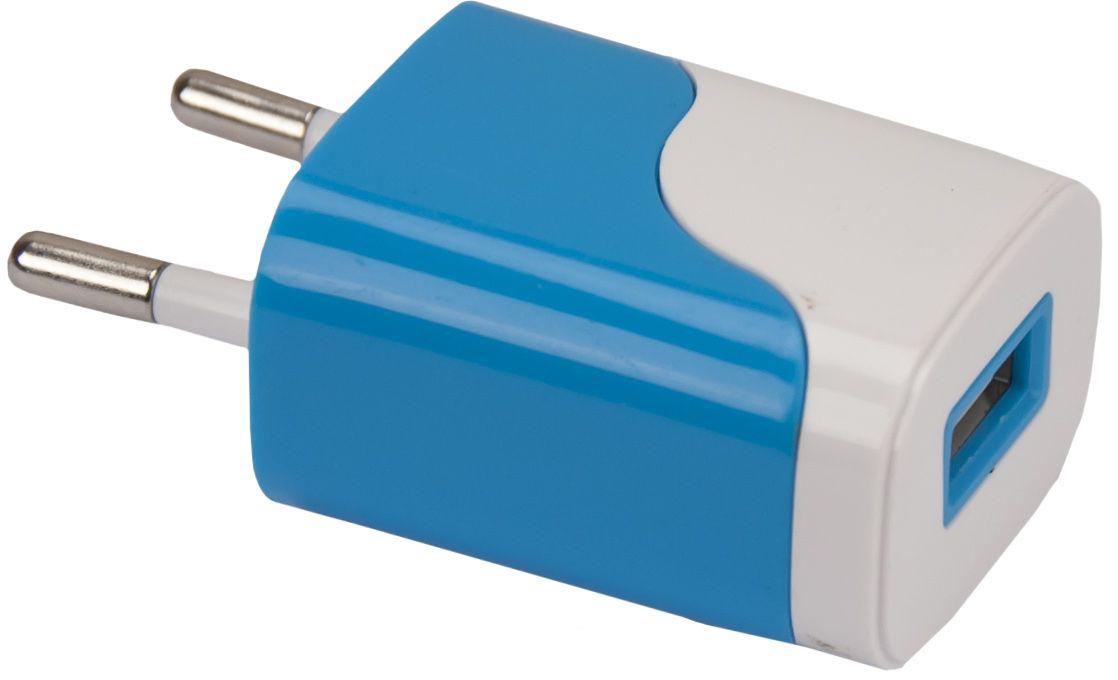 Continent ZN10-194, Blue зарядное устройствоZN10-194NV/OEMКомпактное устройство Continent ZN10-194 для зарядки от сети позволяет быстро и качественно зарядить абсолютно любой цифровой гаджет, будь то планшет или обычный телефон. Стандартный USB разъем унифицирует аксессуар и дает возможность его использования с цифровыми устройствами любого типа, достаточно лишь подобрать нужный USB кабель.