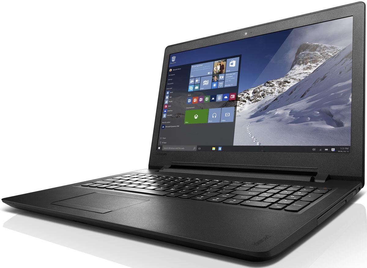 Lenovo IdeaPad 110-15IBR, Black (80T700C1RK)80T700C1RKLenovo IdeaPad 110 объединяет все необходимые характеристики в одном устройстве начального уровня: стабильная производительность, большой объем оперативной памяти и накопителя, высококлассный дисплей. Доступны комплектации с различными видеокартами. 15,6-дюймовый широкоформатный дисплей стандарта HD с соотношением сторон 16:9 и разрешением 1366 х 768 обеспечивает четкость и яркость изображения. Ноутбук Ideapad 110 оснащен встроенным модулем Wi-Fi 802.11 a/c, что обеспечит молниеносную скорость для веб- серфинга, воспроизведения потокового видео и загрузки файлов. Скорость передачи данных стандарта Wi-Fi 802.11 a/c почти в три раза выше, чем 802.11 b/g/n. На ноутбук Lenovo IdeaPad 110 установлена обновленная версия уже знакомой Windows. Меню Пуск вернулось и стало лучше, чем прежде. Его можно расширять и настраивать под свои задачи. К ноутбуку можно подключать различные устройства: принтеры, камеры, USB-накопители и другие устройства....