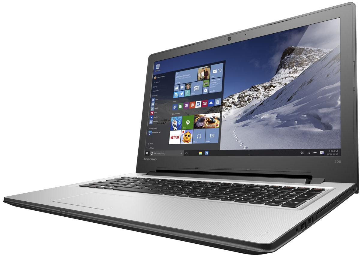 Lenovo IdeaPad 300-15IBR, Silver (80M300MQRK)80M300MQRKТонкий и стильный 15,6-дюймовый ноутбук Lenovo IdeaPad 300. Все, что нужно. Ничего лишнего. Если вы ищете недорогой производительный ноутбук, выбирайте IdeaPad 300. Процессор от Intel - идеальный компонент для мобильного компьютера, с отличным соотношением цены и производительности. Благодаря высокой энергоэффективности его можно заряжать реже. Высокая скорость передачи данных: Быстрая передача данных между IdeaPad 300 и другими устройствами при помощи разъема USB 3.0. Он почти в десять раз быстрее предыдущих версий USB и является обратно-совместимым. Тонкий, легкий и портативный: Хватить изнывать под тяжестью громоздкого ноутбука. Модель Ideapad 300 имеет всего 23,4 мм в толщину и весит около 2,3 кг - идеальный вариант для поездок и путешествий. Сверхскоростной веб-серфинг: В три раза более высокая (по сравнению с традиционной) скорость Wi-Fi 802.11 a/c ноутбука IdeaPad 300 позволит вам путешествовать по...
