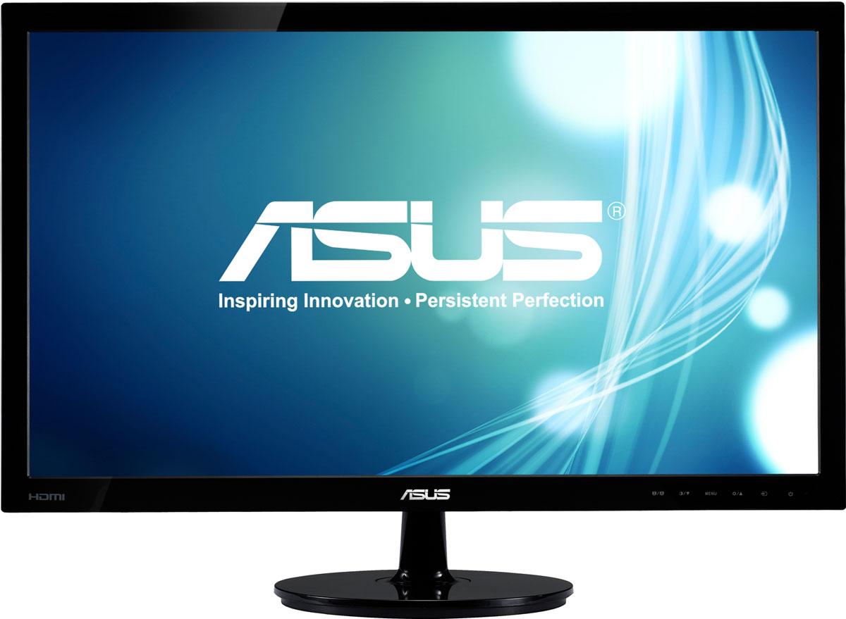 ASUS VS197DE, Black монитор90LMF1301T02201C-Современный ЖК-монитор ASUS VS197DE со светодиодной подсветкой и высокой контрастностью. Помимо великолепного качества изображения он может похвастать прекрасным дизайном корпуса и изящной, надежной подставкой. Благодаря технологии ASCR, которая динамически изменяет яркость подсветки в зависимости от текущего изображения, контрастность данного монитора достигает фантастического уровня – 50 000 000:1! Технология Smart View обеспечивает отсутствие искажений цвета при взгляде на экран снизу, например, если вы захотите посмотреть фильм, лежа на диване. Эксклюзивная технология Splendid Video Intelligence позволяет быстро настраивать монитор в соответствии с текущими задачами и условиями (игры, просмотр фото, работа в ночное время и т.д.), чтобы получить максимально качественное изображение. Всего доступно шесть вариантов настройки. Между ними можно легко переключаться нажатием на специально выделенную для этого кнопку.
