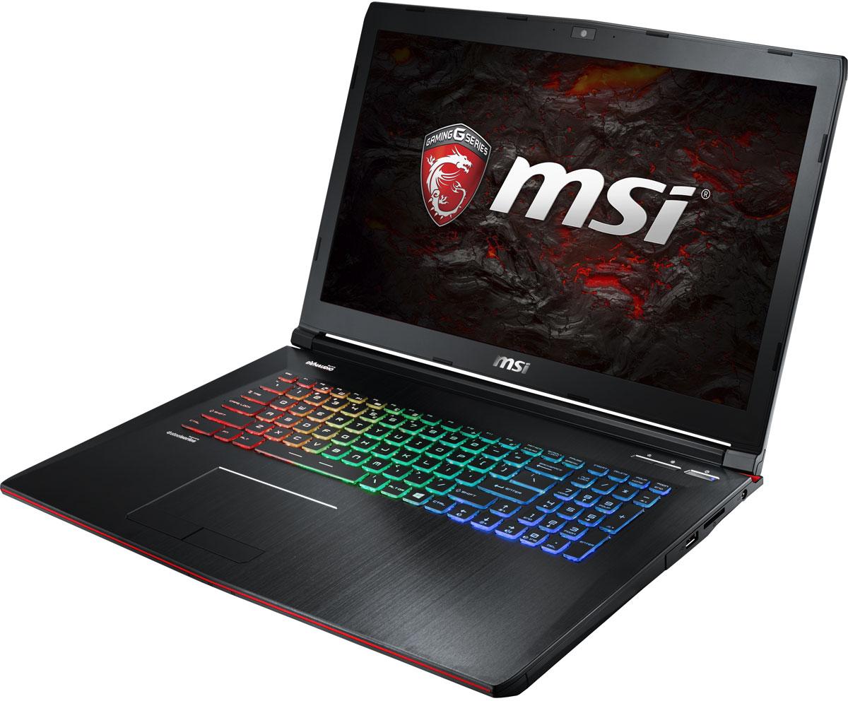 MSI GE72MVR 7RG-016XRU Apache Pro, BlackGE72MVR 7RG-016XRUКомпания MSI создала игровой ноутбук GE72MVR 7RG Apache Pro с новейшим поколением графических карт NVIDIA GeForce GTX 1070. По ожиданиям экспертов производительность GeForce GTX 1070 должна более чем на 40% превысить показатели графических карт GeForce GTX 900M Series. Благодаря инновационной системе охлаждения Cooler Boost и специальным геймерским технологиям, применённым в игровом ноутбуке MSI GE72MVR 7RG Apache Pro, графическая карта новейшего поколения NVIDIA GeForce GTX 1070 сможет продемонстрировать всю свою мощь без остатка. Олицетворяя концепцию Один клик до VR и предлагая полное погружение в игровые вселенные с идеально плавным геймплеем, игровые ноутбуки MSI разбивают устоявшиеся стереотипы об исключительной производительности десктопов. Ноутбуки MSI готовы поразить любого геймера, заставив взглянуть на мобильные игровые системы по-новому. 7-ое поколение процессоров Intel Core серии H обрело более энергоэффективную архитектуру, продвинутые ...