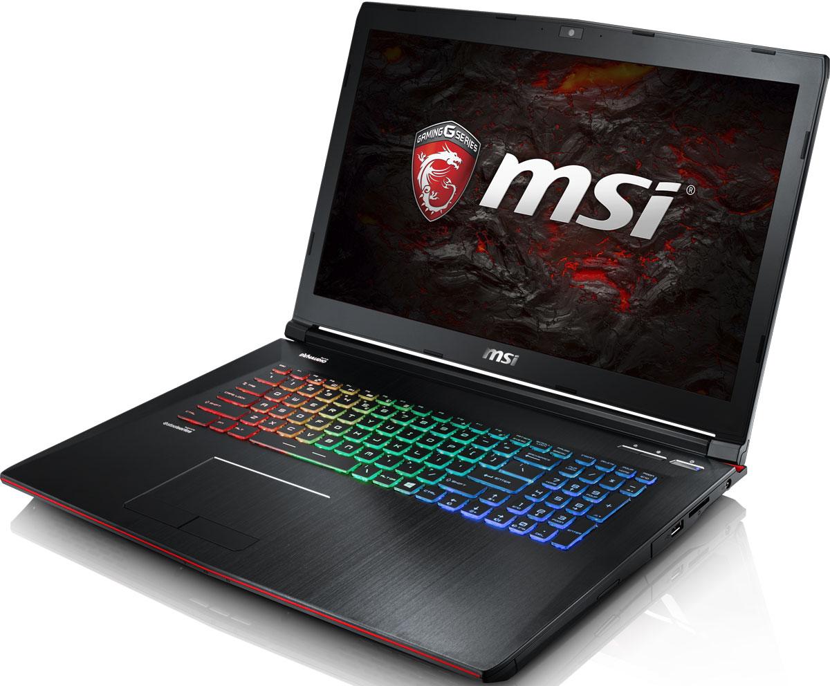 MSI GE72VR 7RF-441XRU Apache Pro, BlackGE72VR 7RF-441XRUКомпания MSI создала игровой ноутбук GE72VR 7RF Apache Pro с новейшим поколением графических карт NVIDIA GeForce GTX 1060. По ожиданиям экспертов производительность GeForce GTX 1060 должна более чем на 40% превысить показатели графических карт GeForce GTX 900M Series. Благодаря инновационной системе охлаждения Cooler Boost и специальным геймерским технологиям, применённым в игровом ноутбуке MSI GE72VR 7RF Apache Pro, графическая карта новейшего поколения NVIDIA GeForce GTX 1060 сможет продемонстрировать всю свою мощь без остатка. Олицетворяя концепцию Один клик до VR и предлагая полное погружение в игровые вселенные с идеально плавным геймплеем, игровые ноутбуки MSI разбивают устоявшиеся стереотипы об исключительной производительности десктопов. Ноутбуки MSI готовы поразить любого геймера, заставив взглянуть на мобильные игровые системы по-новому. 7-ое поколение процессоров Intel Core серии H обрело более энергоэффективную архитектуру, продвинутые ...