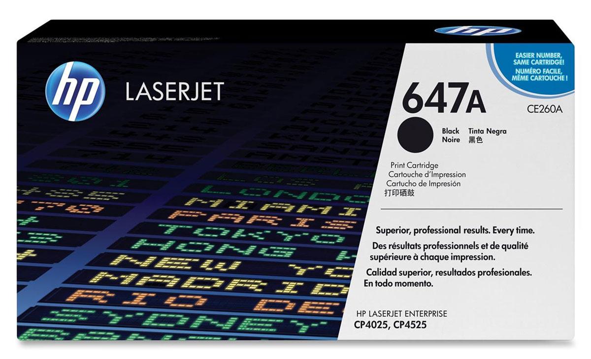 HP CE260A, Black тонер-картридж для Color LaserJet CP4025/CP4525CE260AРасходные материалы HP Color LaserJet 647 обеспечивают высокую производительность и экономят время и расходные материалы. Надежная печать деловых документов профессионального качества. Картриджи HP разработаны для использования с вашим принтером. Оригинальные картриджи HP с тонером ColorSphere обеспечивают четкий черный текст при печати деловых документов. Тонер HP гарантирует неизменно высокие результаты и профессиональное качество лазерной печати на различных носителях. Низкие расходы на печать и высокая эффективность работы. Картриджи для принтеров HP Color LaserJet гарантируют безотказную печать неизменно высокого качества. Благодаря своей исключительной надежности эти картриджи обеспечивают бесперебойную работу и позволяют снизить затраты на расходные материалы. Выберите черный картридж в соответствии с вашими потребностями. Этот стандартный картридж идеально подходит для повседневной офисной печати. Интеллектуальная система, встроенная...