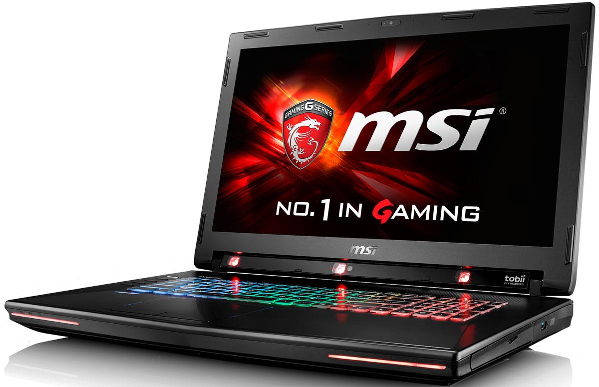 MSI GT72S 6QE-1019RU Dominator Pro G Tobii, BlackGT72S 6QE-1019RUMSI GT72S 6QE Dominator Pro G Tobii - мощный игровой ноутбук, внутри которого самые продвинутые мобильные комплектующие: процессор шестого поколения Intel Core i7 и графическая карта NVIDIA GeForce GTX 980M. Skylake – это кодовое имя новой 14-нм микроархитектуры процессоров Intel последнего, 6-го поколения. По сравнению с предыдущими поколениями платформа Skylake обладает сниженным энергопотреблением при повышенной производительности. MSI GT72S 6QE Dominator Pro G Tobii оснащен процессором Core i7 6820HK с возможностью разгона от 3.ГГц до 4 ГГц и выше. Super RAID 4 – это новейшая технология построения высокоскоростных систем хранения данных, основанная на архитектуре RAID 0. Объединяя два модуля PCI-E Gen.3 x4 SSD в единое целое, она позволяет развить невероятную скорость передачи данных – более 3800 Мбайт/с в режиме чтения! Вы сможете достичь максимально возможной производительности вашего ноутбука благодаря поддержке оперативной...