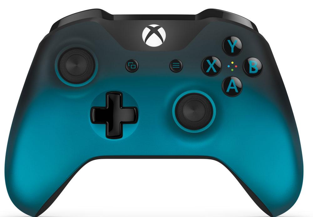 Xbox One Ocean Shadow беспроводной геймпадWL3-00040Беспроводной геймпад Xbox Ocean Shadow особой серии цвета голубой металлик обеспечивает беспрецедентный уровень комфорта и удобства. Он отличается изящной, оптимизированной конструкцией и текстурной поверхностью. Импульсные триггеры обеспечивают вибрационную обратную связь, так что вы почувствуете малейшую тряску и столкновения с высочайшей точностью. Отзывчивые мини-джойстики и усовершенствованная крестовина повышают точность. А к 3,5 - мм стереогнезду можно напрямую подключить любую совместимую гарнитуру. Почувствуйте игру благодаря импульсным триггерам. Вибрационные электродвигатели в триггерах обеспечивают прецизионную обратную связь, передавая отдачу оружия, столкновения и тряску для достижения невиданного реализма в играх! Теперь геймпад оснащен 3,5-мм стереогнездом, к которому можно напрямую подключить любимую игровую гарнитуру. Поддерживается беспроводное обновление прошивки, благодаря чему для обновления не требуется подключать...