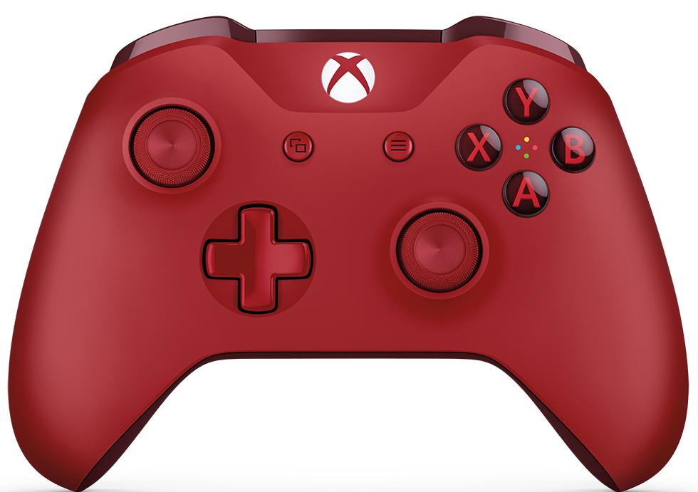 Microsoft Xbox One беспроводной геймпад цвет красный WL3-00028