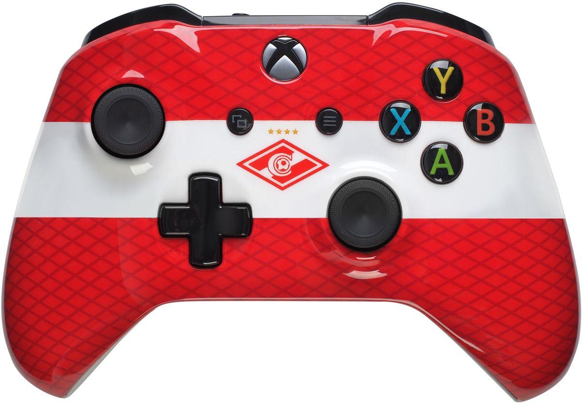 Microsoft Xbox One Спартак беспроводной геймпад 4627125190407