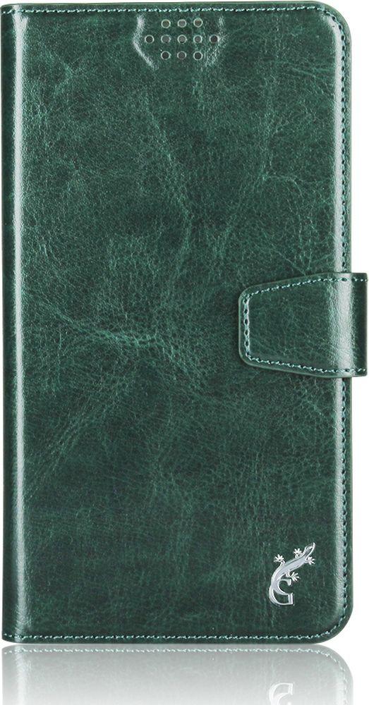 G-Case Slim Premium универсальный чехол для смартфонов 3,5-4,2, Dark GreenGG-765
