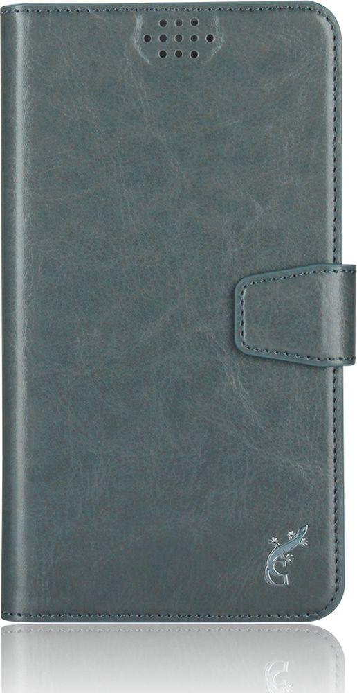 G-Case Slim Premium универсальный чехол для смартфонов 4,2-5, MetallicGG-770