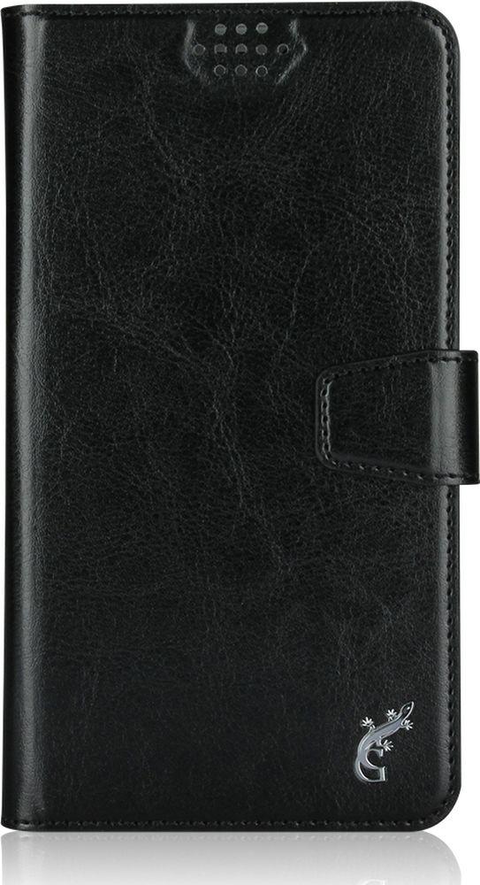 G-Case Slim Premium универсальный чехол для смартфонов 5-5,5, BlackGG-779