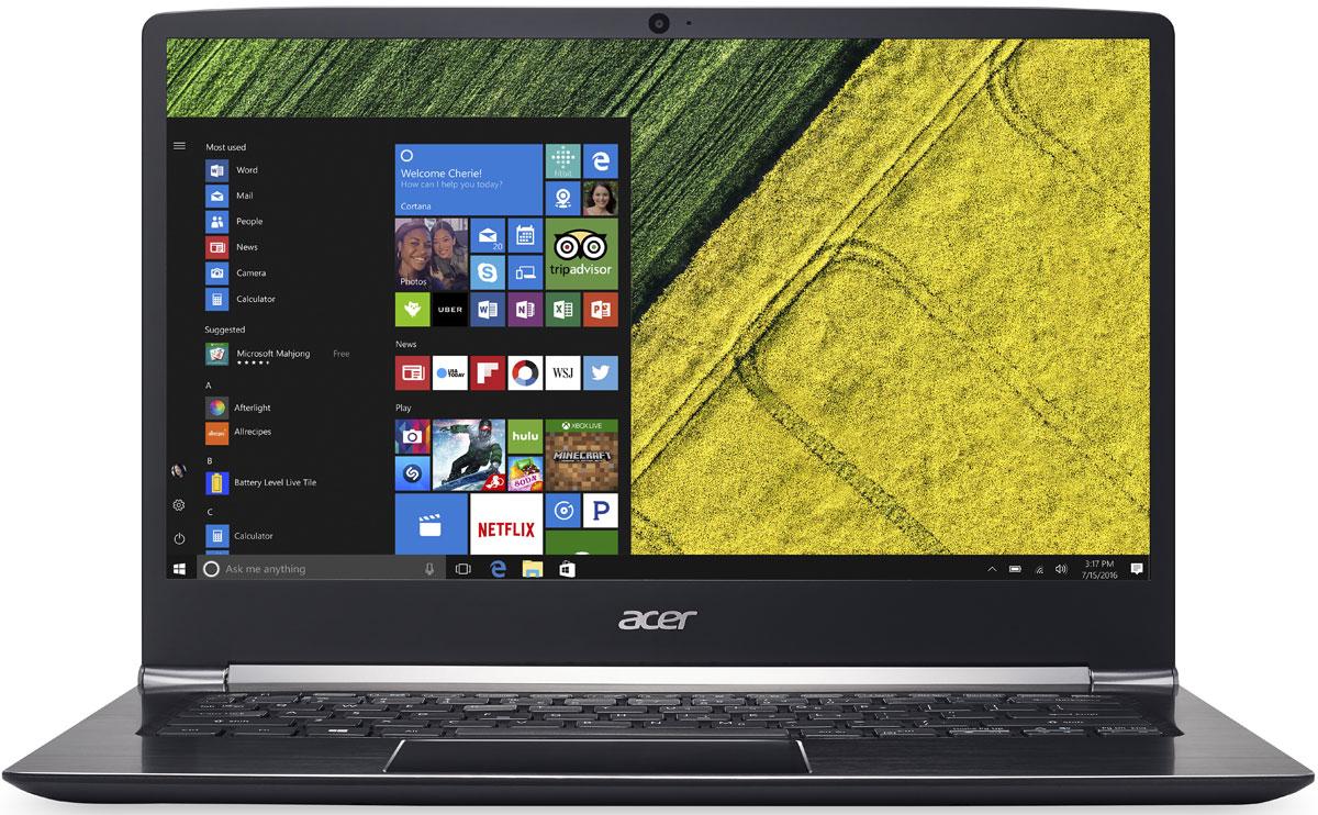 Acer Swift 5 SF514-51-73Q8, BlackSF514-51-73Q8Acer Swift 5 SF514-51-73Q8 - портативный ноутбук с толщиной корпуса 14,58 мм и весом 1,36 кг. Клавиатура с подсветкой Благодаря подсветке клавиш вы можете продолжать работать даже вечером при тусклом освещении. Благодаря времени автономной работы 13 часов вы сможете работать целый день. Потоковые трансляции без задержек и скорость загрузки до пяти раз быстрее в сравнении стали доступны с решениями на базе технологии 802.11n. Технологии Acer TrueHarmony и Dolby Audio обеспечивают превосходную четкость звучания. Встроенный датчик отпечатка пальца совместим с Windows Hello, что позволяет выполнять безопасный вход в систему буквально одним касанием. Сохраняйте высокую производительность в течение всего дня с новейшими процессорами Intel и длительным временем автономной работы. Точные характеристики зависят от модели. Ноутбук сертифицирован EAC и имеет русифицированную клавиатуру и Руководство...