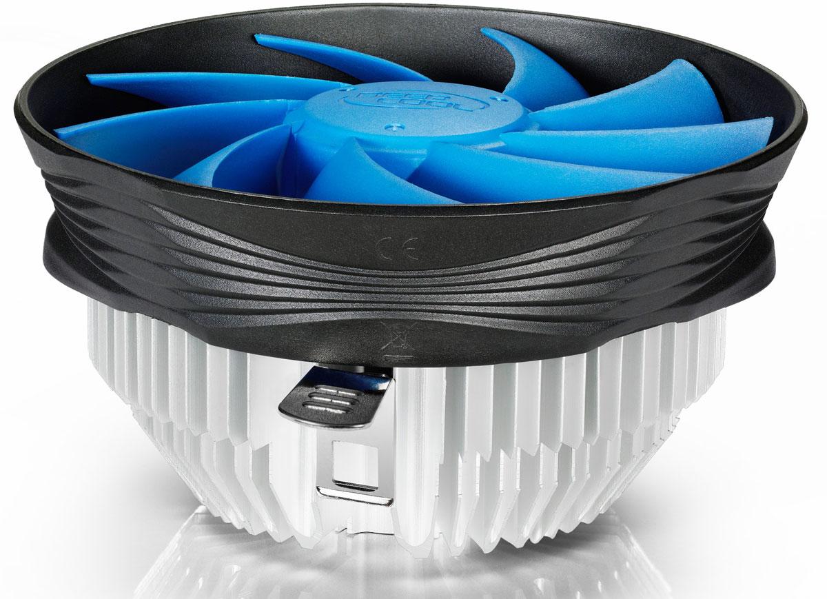 Deepcool Gamma Archer кулер компьютерныйGAMMA ARCHERКомпьютерный кулер Deepcool Gamma Archer имеет уникальный дизайн вентилятора, который направляет воздушный поток на модули памяти и материнскую плату. Алюминиевый радиатор лучевой конструкции с медным сердечником обеспечивает эффективный отвод тепла. А большой 120 мм вентилятор формирует заметный воздушный поток при малом шуме.