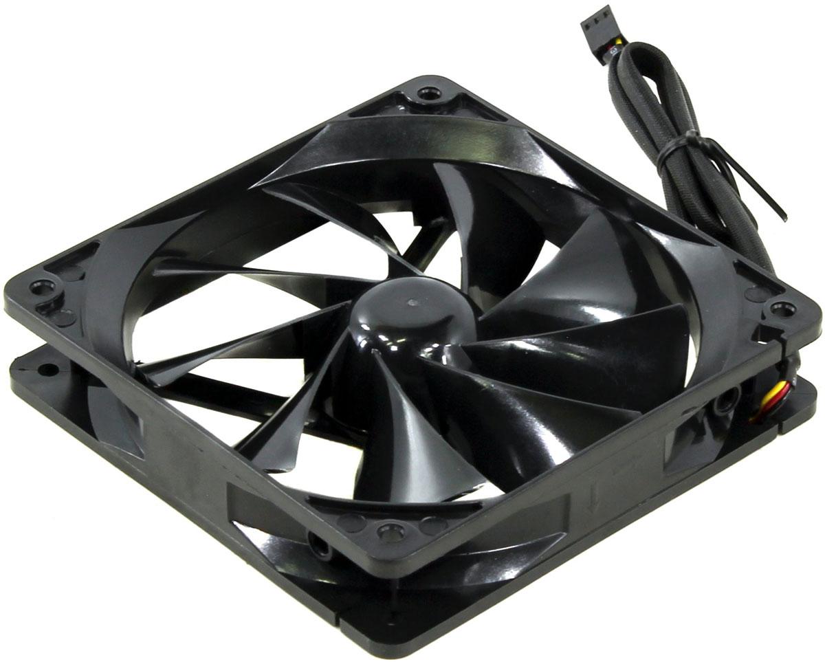Thermaltake Pure Fan 12 вентилятор компьютерныйCL-F011-PL12BL-AThermaltake Pure Fan 12 - это высокопроизводительный охлаждающий вентилятор для корпуса, обеспечивающий великолепный баланс между эффективностью, стилем и тишиной работы. Охлаждающий вентилятор Pure 12 обеспечивает эффективное охлаждение всех компонентов в вашем ПК, при этом сохраняя низкий уровень шума. 9 лопастей вентилятора спроектирована таким образом чтобы обеспечить максимальное давление воздушного потока при низком уровне шума. Охлаждающий вентилятор Pure 12 оснащается качественными подшипниками для увеличения долговечности. Для фиксации вентилятора в комплект входят четыре стандартных винта, для фиксации которых нужна только крестовая отвертка. Данная модель идеально подходит в качестве охлаждающего вентилятора для корпуса или процессорного кулера.