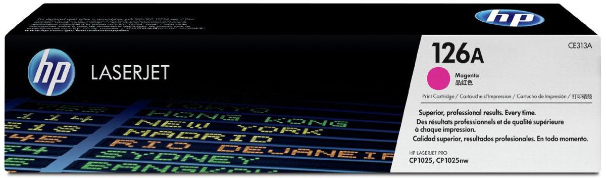 HP CE313A (126A), Magenta тонер-картридж для LaserJet Pro M275/CP1025/M175CE313AТонер-картридж HP CE313A (126A) позволяет печатать текстовые документы и маркетинговые материалы. Обеспечивает фотографическое качество графики и изображений. Неизменно профессиональный результат на широком ассортименте бумаги для лазерной печати. Высокая производительность и высококачественные результаты независимо от условий эксплуатации. Используя картриджи, специально разработанные для вашего принтера, вы сможете избежать необходимости повторной печати и дорогостоящих простоев, а также снизить количество отработанных расходных материалов.