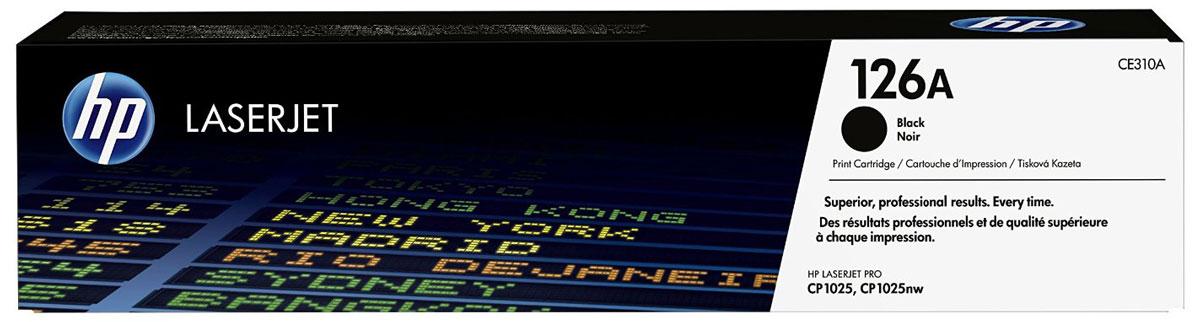 HP CE310A (126A), Black тонер-картридж для LaserJet Pro M275/CP1025/M175CE310AТонер-картридж HP CE310A (126A) позволяет печатать текстовые документы и маркетинговые материалы. Обеспечивает фотографическое качество графики и изображений. Неизменно профессиональный результат на широком ассортименте бумаги для лазерной печати. Высокая производительность и высококачественные результаты независимо от условий эксплуатации. Используя картриджи, специально разработанные для вашего принтера, вы сможете избежать необходимости повторной печати и дорогостоящих простоев, а также снизить количество отработанных расходных материалов.