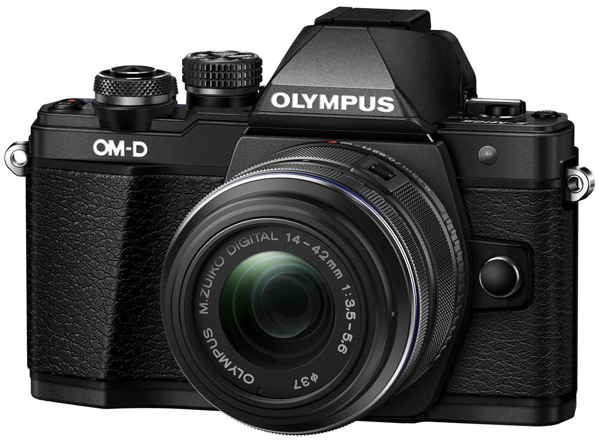 Olympus OM-D E-M10 Mark II Kit 14-42 II R, Black цифровая фотокамераV207051BE000Olympus OM-D E-M10 Mark II – компактная, легкая и эргономичная камера, которая способна удовлетворить все ваши потребности, куда бы вы ни отправились. Несмотря на цельнометаллический корпус E-M10 Mark II весит всего 390 г, так что она никогда не станет вам помехой. Великолепный классический дизайн и самые передовые технологии для получения отличных снимков. Идеальное качество снимков в условиях плохого освещения и в движении. Ваши снимки будут ясными и четкими в любой ситуации благодаря примененной в E-M10 Mark II мощной технологии 5-осевой стабилизации изображения (IS). Где бы вы ни оказались вы всегда получите великолепные, качественные, четкие снимки. 5-осевой стабилизатор изображения встроен в корпус для более эффективной работы и уменьшения веса камеры. С E-M10 Mark II публиковать фотографии стало просто как никогда. Передайте фотографии на свой смартфон с помощью приложения OLYMPUS Image Share (OI.Share) и легко поделитесь ими со своими...