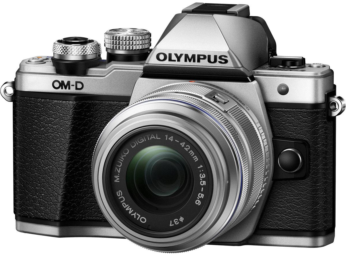 Olympus OM-D E-M10 Mark II Kit 14-42 II R, Silver цифровая фотокамераV207051SE000Olympus OM-D E-M10 Mark II - компактная, легкая и эргономичная камера, которая способна удовлетворить все ваши потребности, куда бы вы ни отправились. Несмотря на цельнометаллический корпус E-M10 Mark II весит всего 390 г, так что она никогда не станет вам помехой. Великолепный классический дизайн и самые передовые технологии для получения отличных снимков. Идеальное качество снимков в условиях плохого освещения и в движении. Ваши снимки будут ясными и четкими в любой ситуации благодаря примененной в E-M10 Mark II мощной технологии 5-осевой стабилизации изображения (IS). Где бы вы ни оказались вы всегда получите великолепные, качественные, четкие снимки. 5-осевой стабилизатор изображения встроен в корпус для более эффективной работы и уменьшения веса камеры. С E-M10 Mark II публиковать фотографии стало просто как никогда. Передайте фотографии на свой смартфон с помощью приложения OLYMPUS Image Share (OI.Share) и легко поделитесь ими со своими...