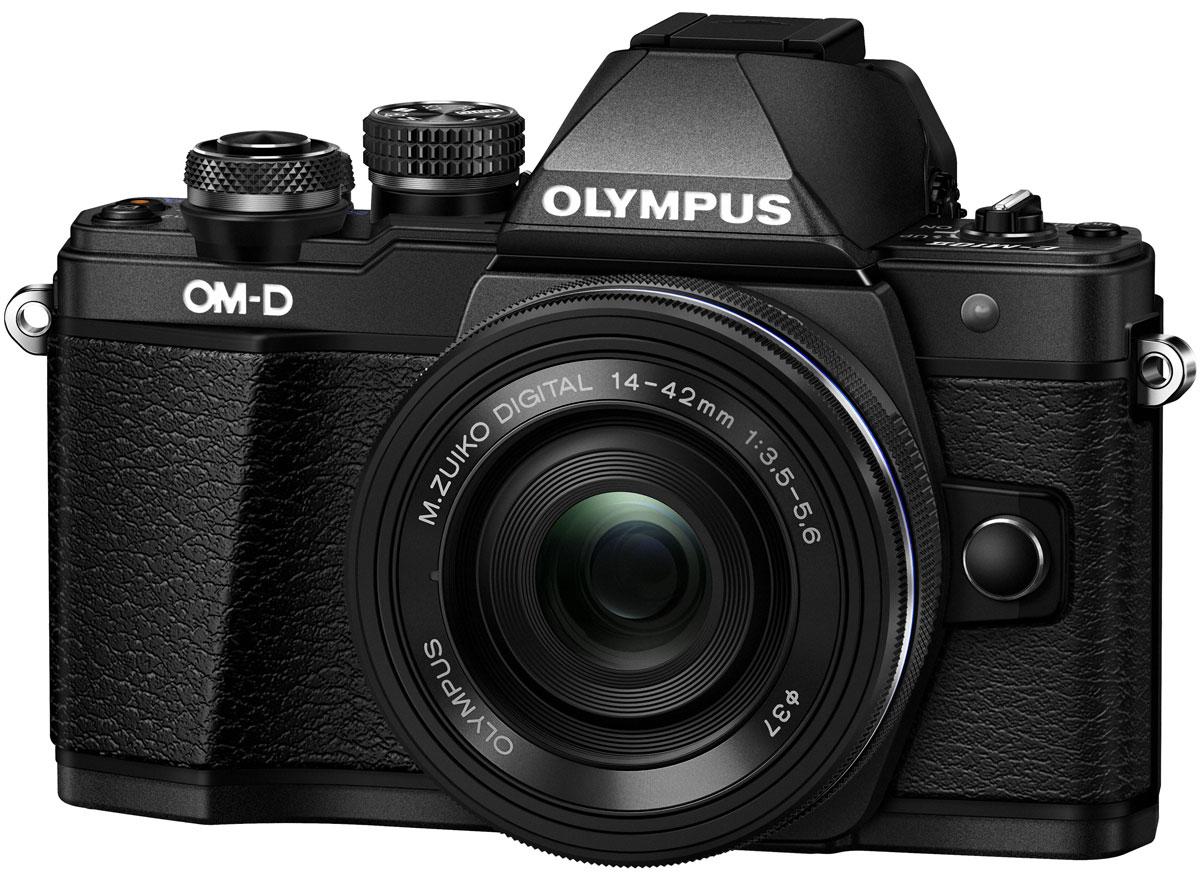 Olympus OM-D E-M10 Mark II Kit 14-42 EZ, Black цифровая фотокамераV207052BE000Olympus OM-D E-M10 Mark II - компактная, легкая и эргономичная камера, которая способна удовлетворить все ваши потребности, куда бы вы ни отправились. Несмотря на цельнометаллический корпус E-M10 Mark II весит всего 390 г, так что она никогда не станет вам помехой. Великолепный классический дизайн и самые передовые технологии для получения отличных снимков. Идеальное качество снимков в условиях плохого освещения и в движении. Ваши снимки будут ясными и четкими в любой ситуации благодаря примененной в E-M10 Mark II мощной технологии 5-осевой стабилизации изображения (IS). Где бы вы ни оказались вы всегда получите великолепные, качественные, четкие снимки. 5-осевой стабилизатор изображения встроен в корпус для более эффективной работы и уменьшения веса камеры. С E-M10 Mark II публиковать фотографии стало просто как никогда. Передайте фотографии на свой смартфон с помощью приложения OLYMPUS Image Share (OI.Share) и легко поделитесь ими со своими...