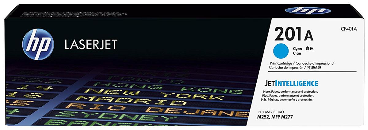 HP CF401A (201A), Cyan тонер-картридж для Color LaserJet Pro M252/M274/M277CF401AОригинальные лазерные картриджи HP 201A с технологией JetIntelligence оснащены инновационными средствами проверки и отличаются потрясающей производительностью при высокой скорости работы. Будьте уверены, что извлекаете максимум выгоды из каждого картриджа. Оригинальные лазерные картриджи HP LaserJet с технологией JetIntelligence гарантируют точное отслеживание уровня расхода тонера. Количество высококачественных документов, которые вы сможете напечатать, превзойдет все ожидания. Тонер ColorSphere 3 был специально разработан для повышения производительности принтера. Низкая температура плавления гарантирует профессиональное качество печати. Все оригинальные лазерные картриджи HP LaserJet с поддержкой JetIntelligence оснащены эксклюзивной технологией HP по борьбе с поддельной продукцией. При установке картриджа в принтер его подлинность проверяется автоматически.