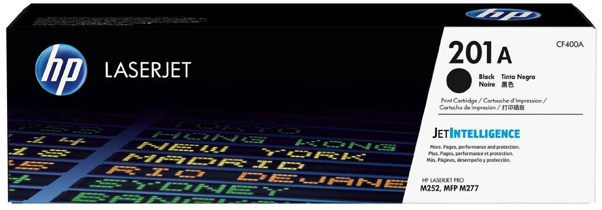 HP CF400A (201A), Black тонер-картридж для Color LaserJet Pro M252/M274/M277CF400AОригинальные лазерные картриджи HP 201A с технологией JetIntelligence оснащены инновационными средствами проверки и отличаются потрясающей производительностью при высокой скорости работы. Будьте уверены, что извлекаете максимум выгоды из каждого картриджа. Оригинальные лазерные картриджи HP LaserJet с технологией JetIntelligence гарантируют точное отслеживание уровня расхода тонера. Количество высококачественных документов, которые вы сможете напечатать, превзойдет все ожидания. Тонер ColorSphere 3 был специально разработан для повышения производительности принтера. Низкая температура плавления гарантирует профессиональное качество печати. Все оригинальные лазерные картриджи HP LaserJet с поддержкой JetIntelligence оснащены эксклюзивной технологией HP по борьбе с поддельной продукцией. При установке картриджа в принтер его подлинность проверяется автоматически.
