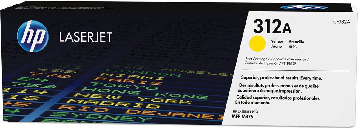 HP CF382A (312A), Yellow тонер-картридж для Color LaserJet Pro M476CF382AС помощью тонер-картриджей HP 312A вы всегда сможете добиться профессионального качества документов и рекламных материалов. Экономьте время и расходные материалы, повышая при этом производительность домашней и офисной печати. Оригинальные лазерные картриджи HP LaserJet — это неизменная гарантия качества. Забудьте о повторной печати, напрасно потраченных расходных материалах и дорогостоящих задержках, которые могут возникнуть при работе с картриджами сторонних производителей. Не теряйте ни минуты. На замену оригинальных лазерных картриджей HP LaserJet и продолжения печати потребуется всего несколько секунд. Ведь эти картриджи создавались специально для быстрой и простой установки в МФУ HP LaserJet.