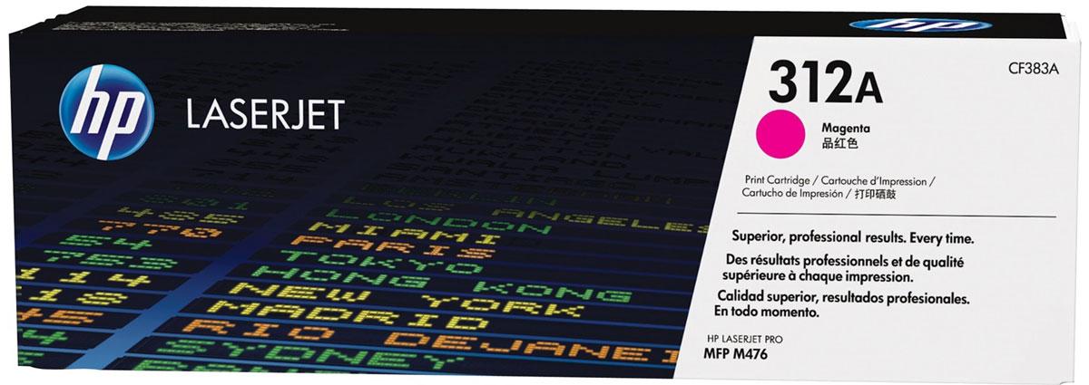 HP CF383A (312A), Magenta тонер-картридж для Color LaserJet Pro M476CF383AС помощью тонер-картриджей HP 312A вы всегда сможете добиться профессионального качества документов и рекламных материалов. Экономьте время и расходные материалы, повышая при этом производительность домашней и офисной печати. Оригинальные лазерные картриджи HP LaserJet - это неизменная гарантия качества. Забудьте о повторной печати, напрасно потраченных расходных материалах и дорогостоящих задержках, которые могут возникнуть при работе с картриджами сторонних производителей. Не теряйте ни минуты. На замену оригинальных лазерных картриджей HP LaserJet и продолжения печати потребуется всего несколько секунд. Ведь эти картриджи создавались специально для быстрой и простой установки в МФУ HP LaserJet.