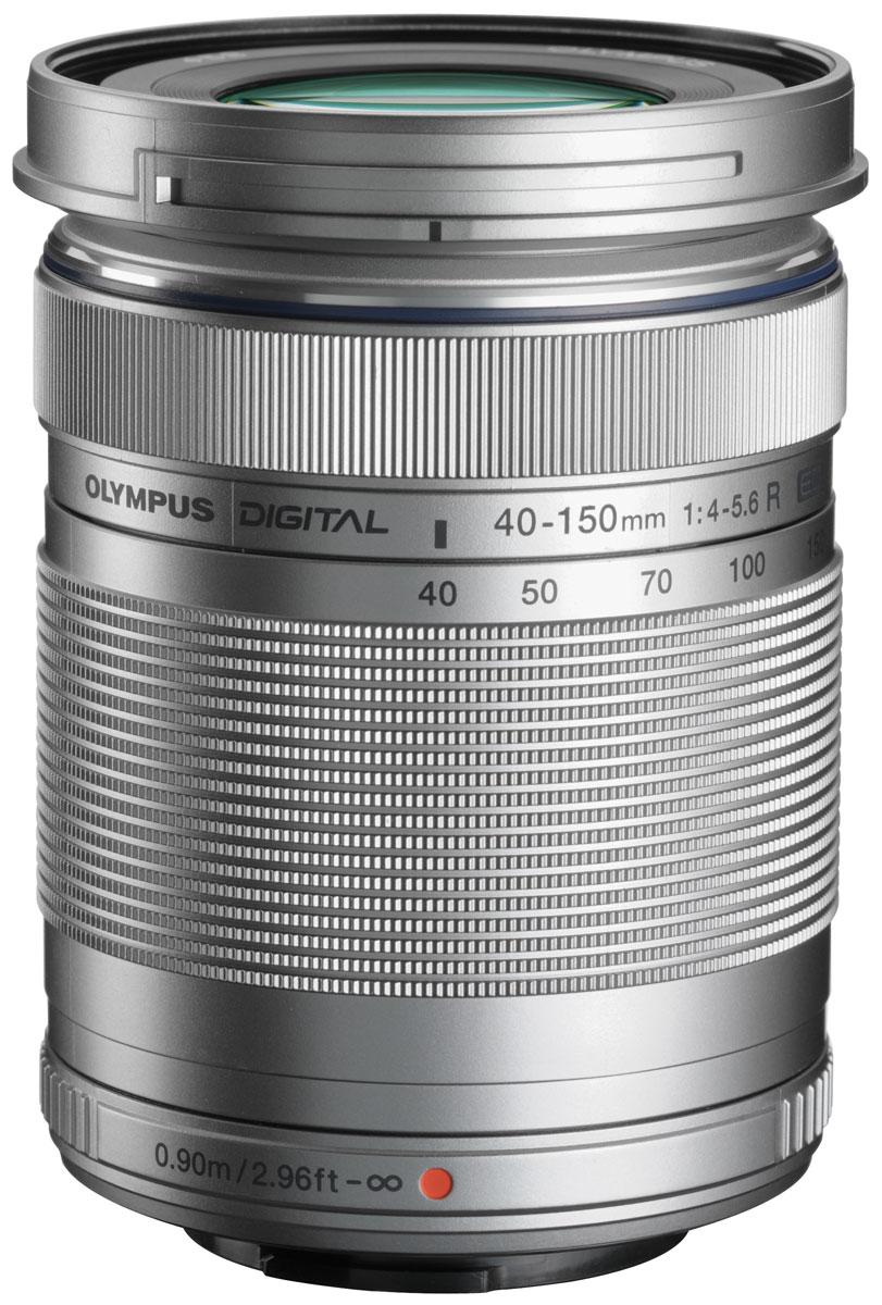 Olympus M.Zuiko Digital ED 40-150mm 1:4.0-5.6 R, Silver объектив V315030SE000