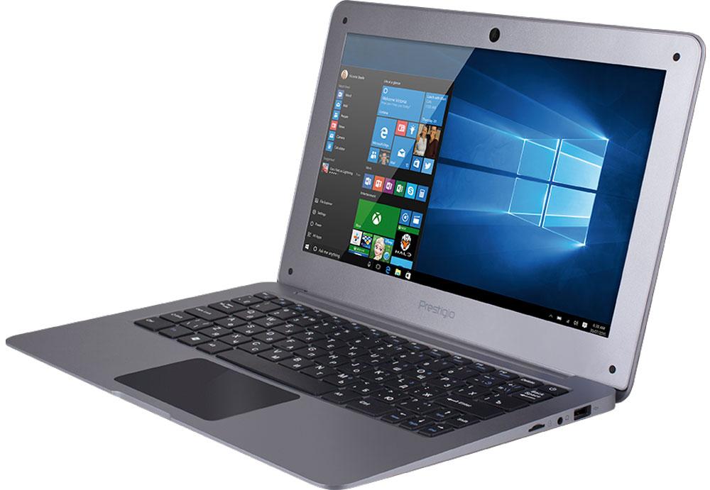 Prestigio SmartBook 116A, Space GrayPSB116A02BFW_RG_CISPrestigio SmartBook 116A предназначен для скоростного Интернет-сёрфинга и бесперебойного доступа в облачные хранилища. Это полноценный ноутбук с экраном 11,6, полной версией ОС Windows и универсальным набором портов. С ультралёгким Smartbook 116A вы по достоинству оцените свободу перемещений. Вес всего около килограмма сохранит осанку, а благодаря компактному размеру он поместится даже в дамской сумке. Windows 10 - это лучшая комбинация ОС Windows, которую вы когда-либо знали, плюс множество улучшений, которые вам понравятся. Интуитивно понятный интерфейс поможет быстрее и эффективнее справляться с задачами, улучшенная производительность позволит вам почувствовать новый уровень мощности, а благодаря дополнительным сервисам и приложениям каждая секунда с новым устройством будет полна комфорта и восхищения. Процессор Intel Atom обеспечит работу в режиме многозадачности, а 2 ГБ оперативной памяти будет достаточно для запуска даже самых...