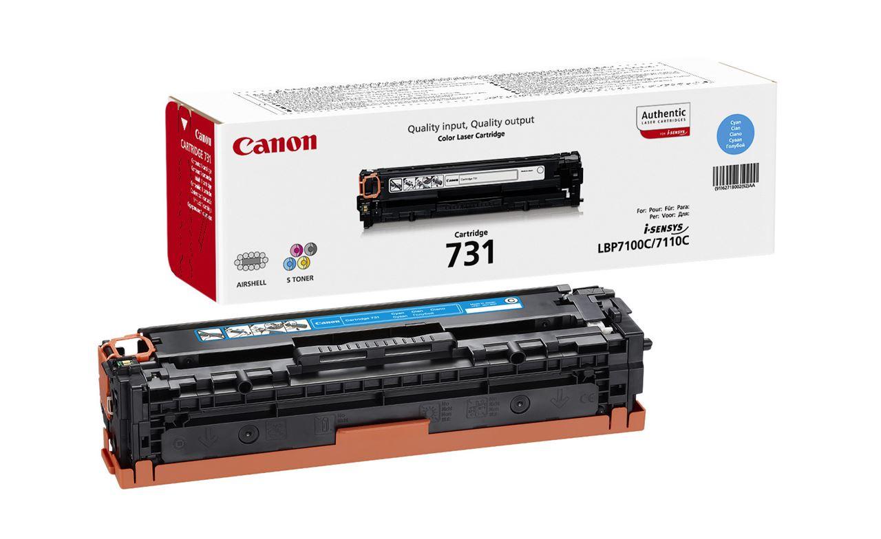 Canon 731, Cyan картридж для LBP7100Cn/7110Cw6271B002Используя картридж 731 C, вы можете быть уверены, что ваши отпечатки всегда будут идеально четкими. Ресурс печати приблизительно 1500 страниц гарантирует, что картридж прослужит так долго, как вам это нужно.