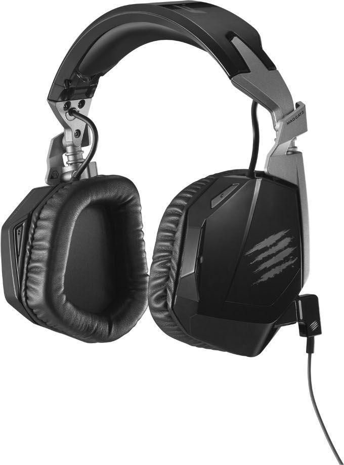 Mad Catz F.R.E.Q.3 Stereo Headset, Black игровые наушникиPCAmc33Mad Catz F.R.E.Q.3 Cтереогарнитура для ПК, Mac и мобильных устройств Сенсация в мире стереозвука Cтереогарнитура Mad Catz F.R.E.Q.3 специально создана для точной передачи аудтопотока игр, фильмов, музыкальных треков. Она очень прочная, но вместе с тем удобная и легкая. Благодаря мультиплатформенной технологии GameSmart эту гарнитуру просто устанавливать и она совместима с массой различных устройств. Cтереогарнитура Mad Catz F.R.E.Q.3 может похвастаться габаритными динамиками 50 мм, интуитивно понятными элементами управления на наушниках и встроенным микрофоном. Несомненно, Catz F.R.E.Q.3 от Mad Catz – просто эталон гарнитуры для игр и мультимедиа. Увеличенные 50-миллиметровые динамики с неодимовыми магнитами В 50-миллиметровых динамиках стереогарнитуры Mad Catz F.R.E.Q.3 установлены неодимовые магниты высочайшего качества – наилучшие из тех, что на сегодняшний день используются в коммерческих гарнитурах. Такая технология гарантирует высококачественное...