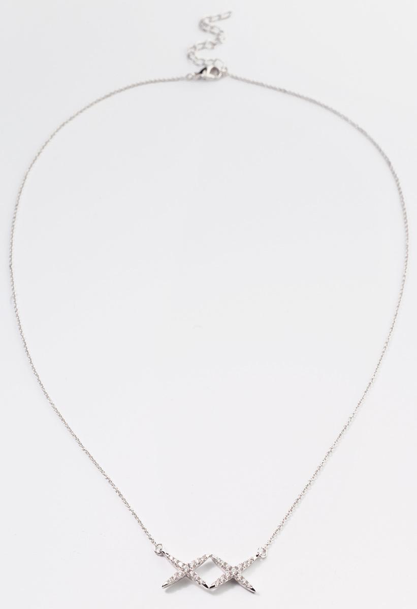Кулон Bradex Созвездие, цвет: серебристый. AS 0107AS 0107Легкий и элегантный кулон Bradex Созвездие представляет собой цепочку с подвеской в форме пары звезд, соединенных между собой. Украшение инкрустировано небольшими прозрачными цирконами. Тонкая цепочка с удобной застежкой имеет якорное плетение. Родиевое покрытие добавляет изделию блеска и защищает его от повреждений.