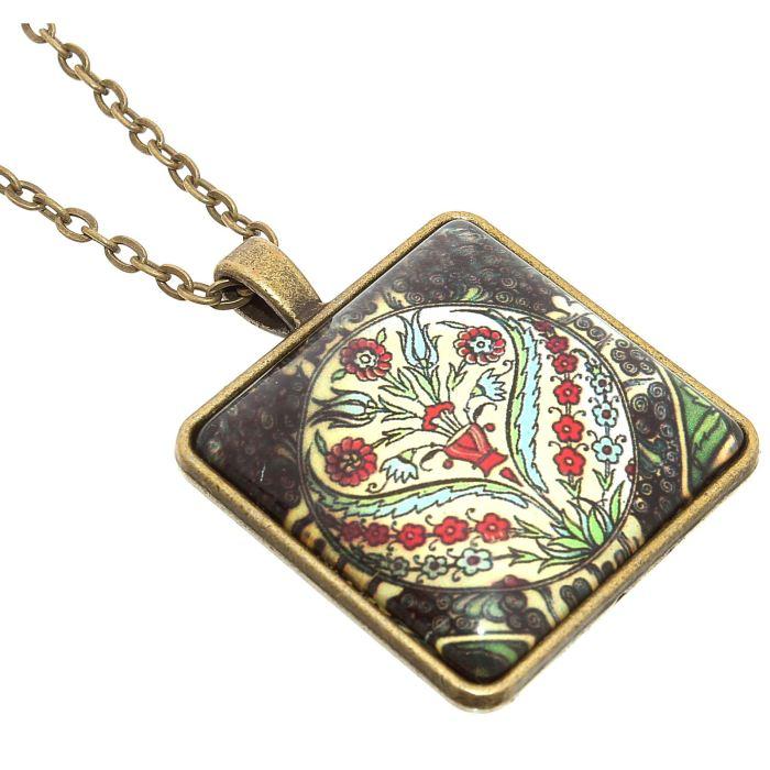 Кулон Mitya Veselkov Цветочный узор, цвет: золотистый. 11524001152400