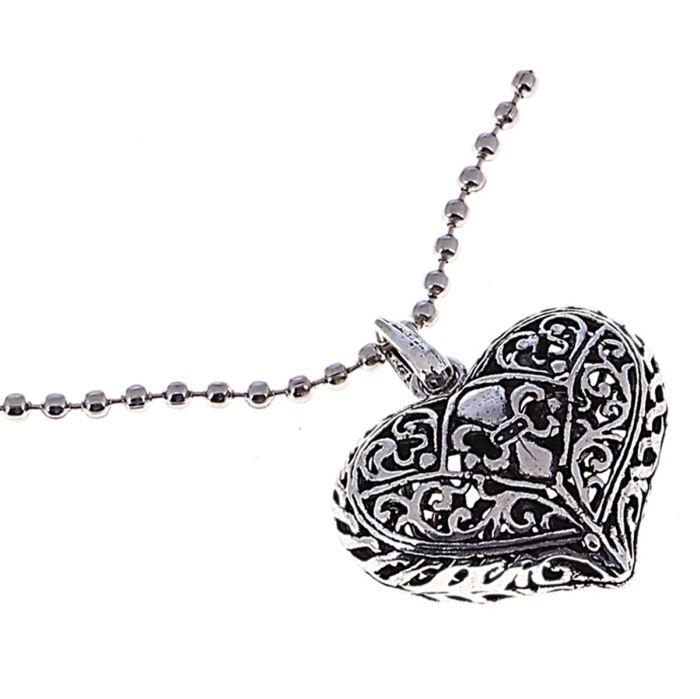 Кулон Mitya Veselkov Art. Сердце, цвет: серебристый. 641519641519