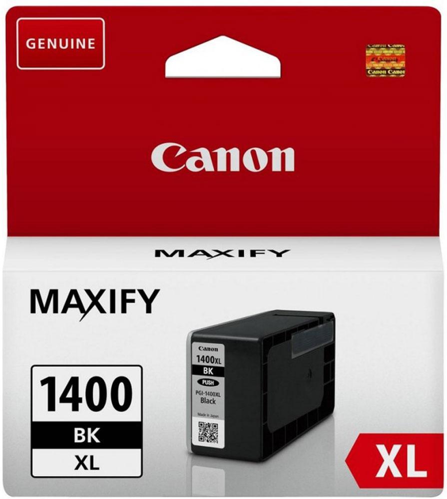 Canon PGI-1400XL, Black картридж для Maxify МВ2040/МВ23409185B001Оригинальный картридж Canon PGI-1400XL с оригинальными чернилами гарантирует профессиональный вид печатаемых документов и высокую производительность. Надежная печать без проблем. Точная цветопередача и быстрое высыхание. Для получения красивых и долговечных отпечатков сделайте выбор в пользу чернил Canon.