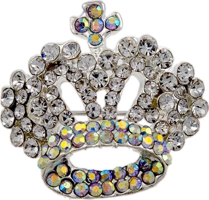 Брошь Алмазная корона от D.Mari. Кристаллы Aurora Borealis, бижутерный сплав серебряного тона. ГонконгKW088-000049Брошь Алмазная корона от D.Mari. Кристаллы Aurora Borealis, бижутерный сплав серебряного тона. Гонконг. Размер - 3,5 х 3 см. Тип крепления - булавка с застежкой.