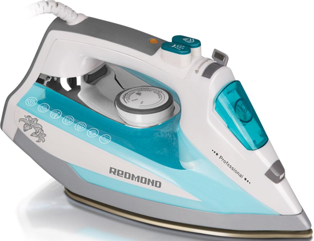 Redmond RI-D235, Light Blue утюгRI-D235 (голубой)Утюг Redmond RI-D235 — новая классическая модель с простым и надёжным механизмом управления, обладающая обширным набором функций и технических возможностей. Данный прибор идеально подойдёт для любого дома! Утюг RI-D235 имеет подошву с современным антипригарным покрытием Duralon, которое гарантирует лёгкое и приятное скольжение устройства по ткани и равномерное распределение пара по всей поверхности. В данной модели реализована автоматическая система Капля-стоп, предотвращающая протекание воды. Благодаря этому можно разглаживать даже самые деликатные ткани без риска повредить их. Функция самоочистки служит для очистки аппарата от образовавшейся накипи в соплах подошвы. Чрезвычайно полезен и паровой удар, предназначенный для разглаживания плотных и сильно мнущихся тканей. Redmond RI-D235 порадует возможностью сухого глаженья и функцией автоотключения, обеспечивающей безопасность эксплуатации утюга и позволяющей экономить электроэнергию. Для...